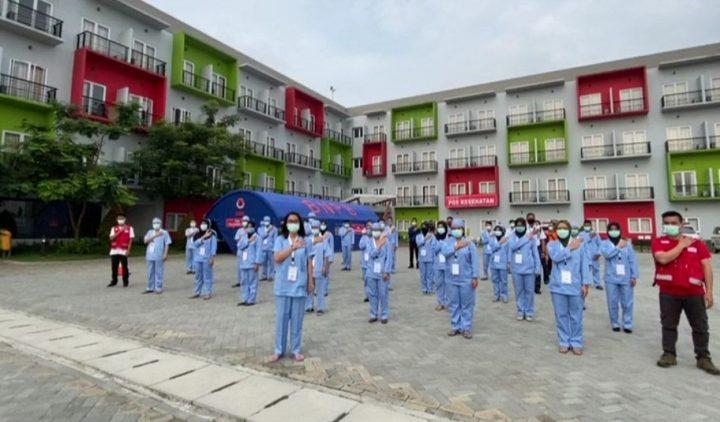 Cuma Lima Hari Dirawat, Dua Pasien Griya Anabatic Kabupaten Tangerang Sembuh