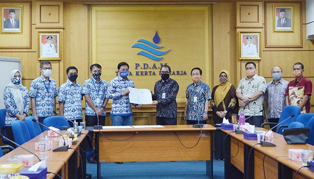 Air Bersih PERUMDAM TKR Bakal Dinikmati Warga Rajeg