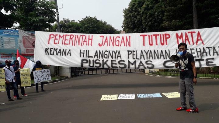 Gara-gara Puskesmas Cipete, Warga Ancam Class Action Walikota Tangerang