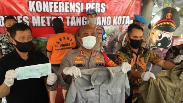 Raup Rp 600 Juta, Oknum BPBD Kota Tangerang Tipu 27 Orang