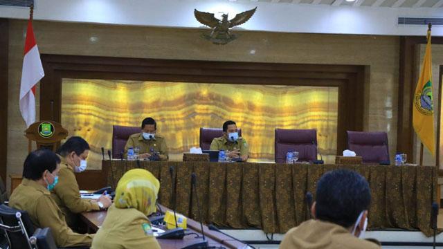 Walikota Tangerang Bahas Pola Pendidikan Anak Masa Pandemi Covid-19