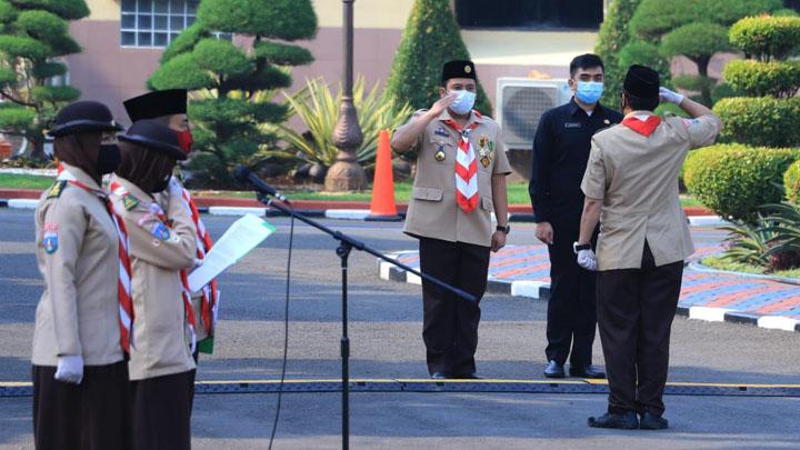 Anggota Pramuka Diminta Bantu Tangani Pandemi Covid-19