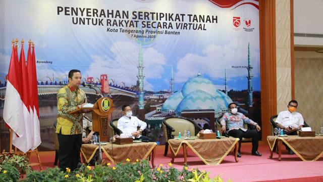 BPN Kota Tangerang Terbitkan 500 Sertifikat Tanah Warga
