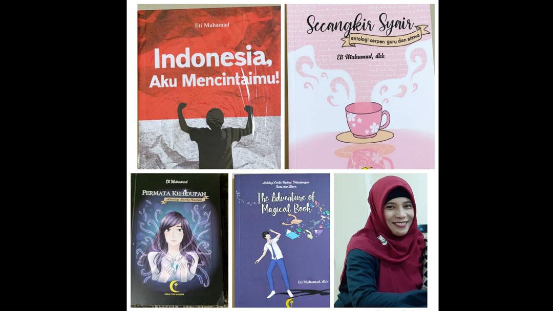 Eti Muhammad Punya Mental Pejuang, Guru Bahasa Indonesia MTs 1 Tangsel Ini Ajak Siswa Menulis Cerpen