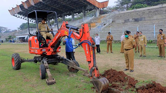 Pemkot Tangerang Rehabilitasi Stadion Benteng