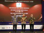 Perumdam TKR Kabupaten Tangerang Borong 4 Penghargaan Top BUMD Award 2020