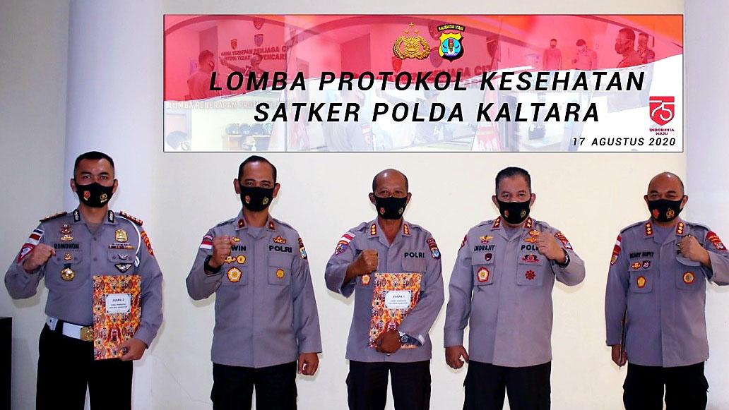 Polda Kaltara Gelar Lomba Implementasi Protokol Kesehatan1