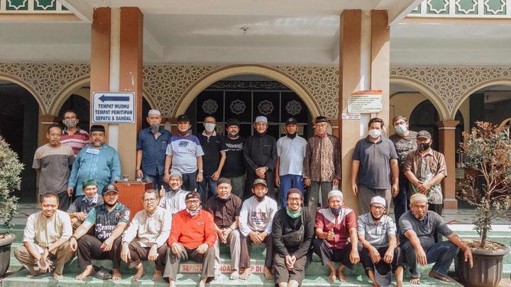 Renovasi Kubah Masjid Al-Muhajirin Kavling Pemda Kota Tangerag Habiskan Anggaran Rp 820 Juta 1