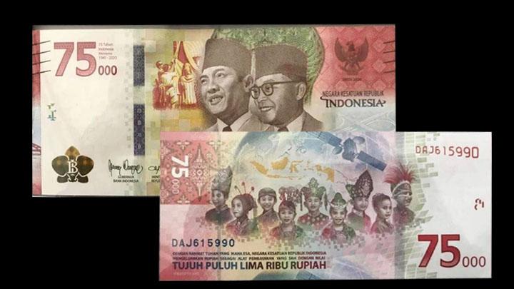 Pemerintah Indonesia Punya Uang Peringatan Kemerdekaan 75 Tahun