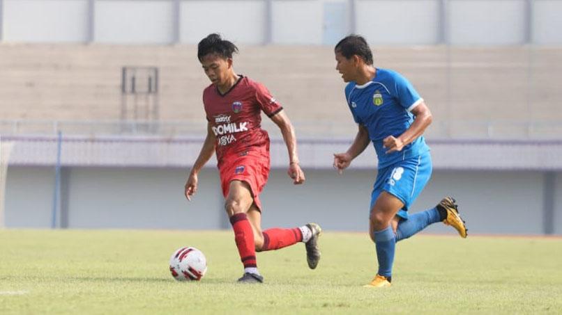 Laga Uji Coba, Persita Tekuk Bhayangkara FC, 1-0