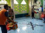 Polisi Tangkap Pelaku yang Mencorat-coret Mushalla di Pasar Kemis