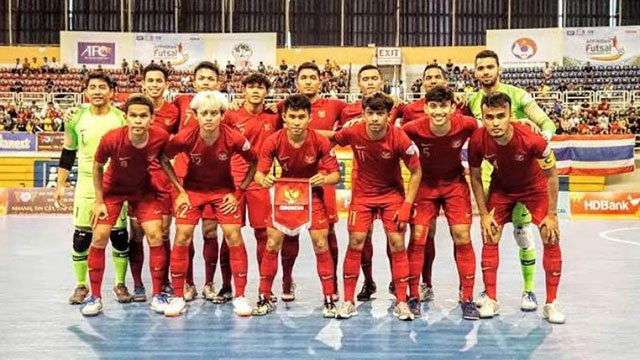 Siap Ikuti AFC Futsal Championship 2020 di Kuwait City, Tim Nasional Futsal Indonesia TC di Surabaya.