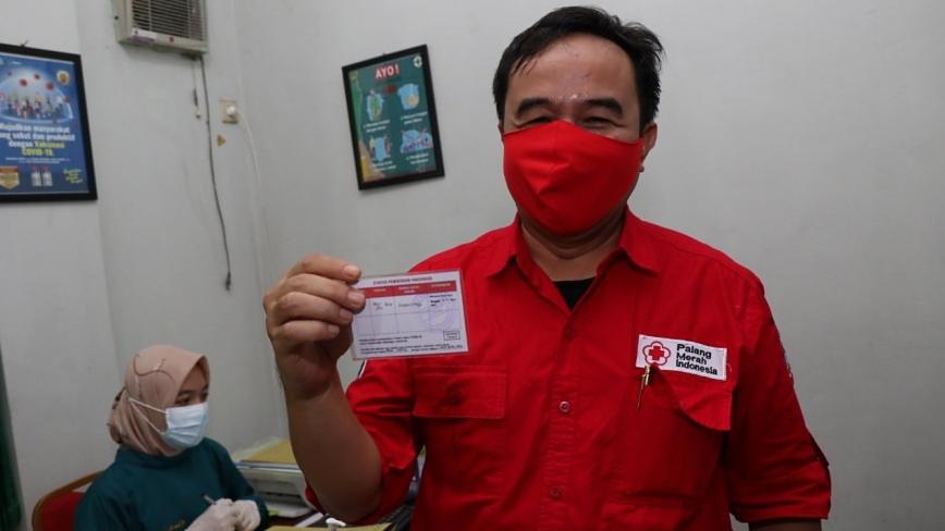 Ketua PMI Kabupaten Tangerang Soma Atmaja