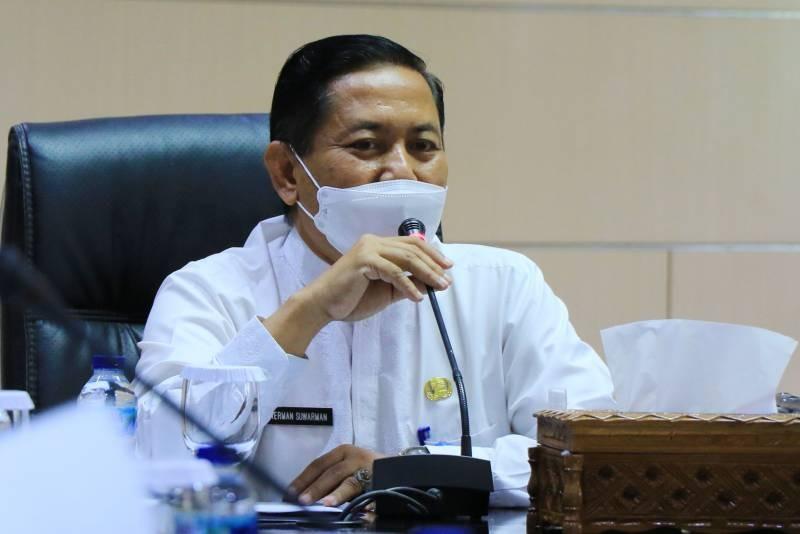 Herman Suwarman, Sekda Kota Tangerang