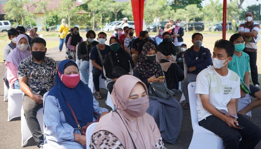 Vaksinasi Di Kabupaten Tangerang Terus Berjalan