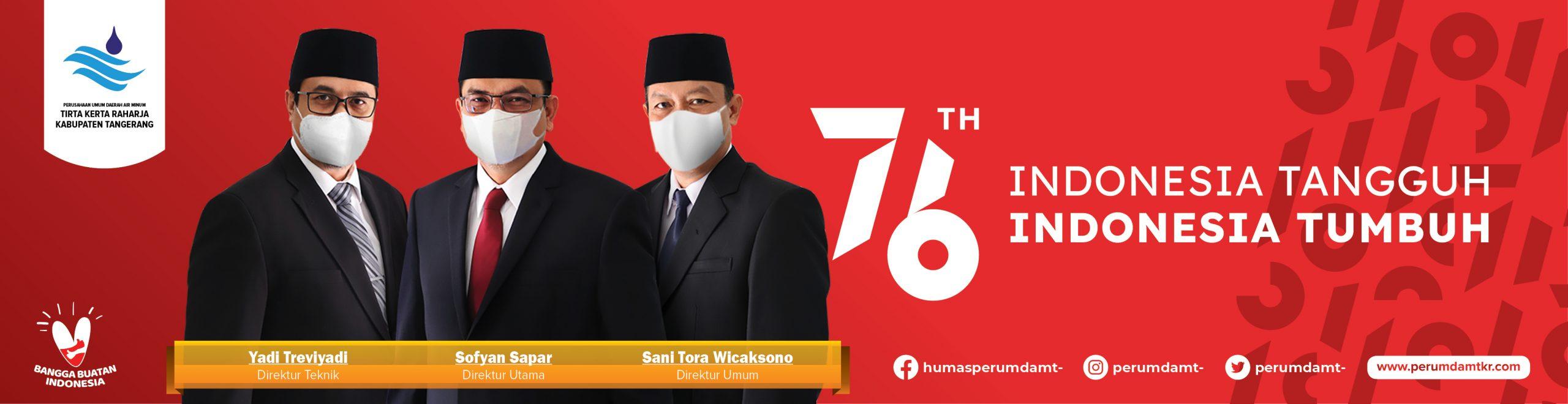 iklan perumdam tkr ucapan hut ri ke 76
