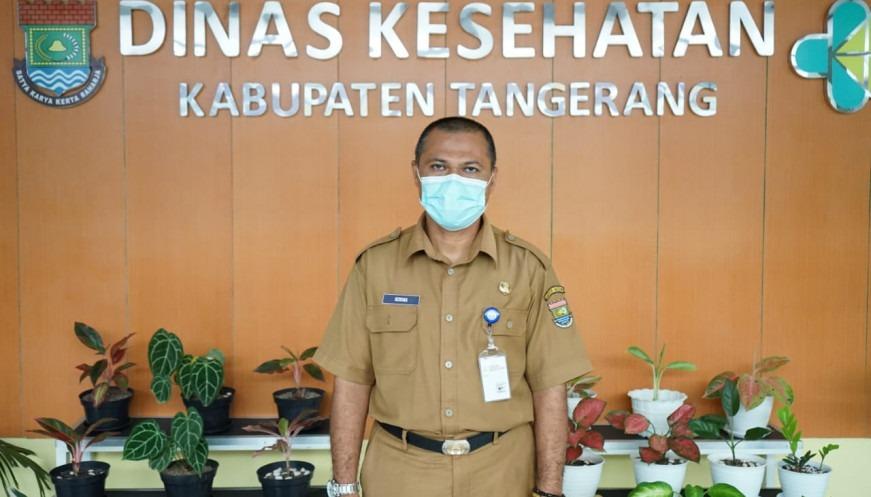 Juru Bicara Satuan Tugas Penanganan COVID-19 Kabupaten Tangerang, dr. Hendra Tarmizi