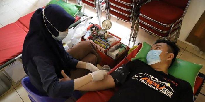 donor darah karang taruna Sangiang jaya